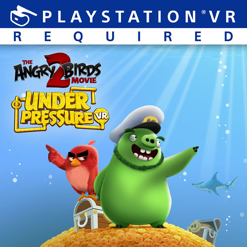 Thumbnail of The Angry Birds Movie 2 VR: Under Pressure on PS4