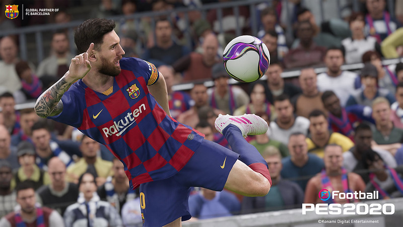 Pro Evolution Soccer 2020 on PS4