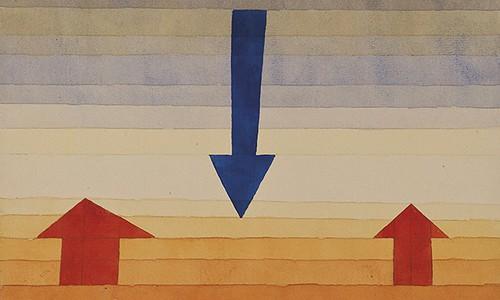 Benvenuto, 1922, Paul Klee