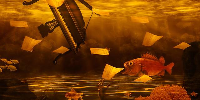 A MELOMANIAC FISH