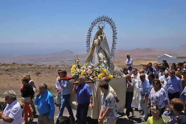 Procesión Virgen de las Nieves 2019