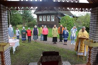 03.08.2019 | Престольный праздник в деревне Рушиново