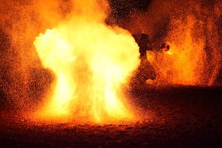 in explode
