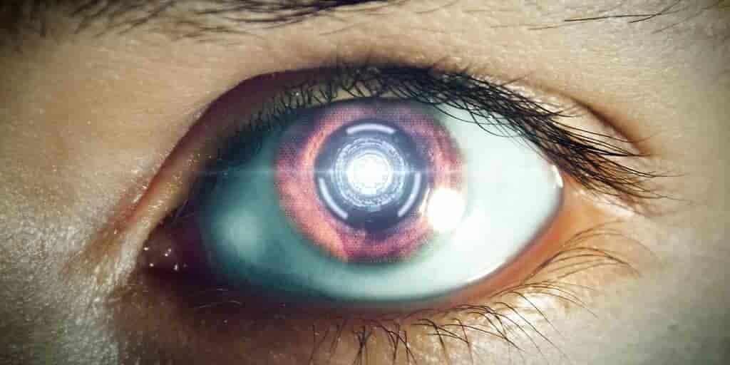 Une interface homme-machine contrôlée par les yeux