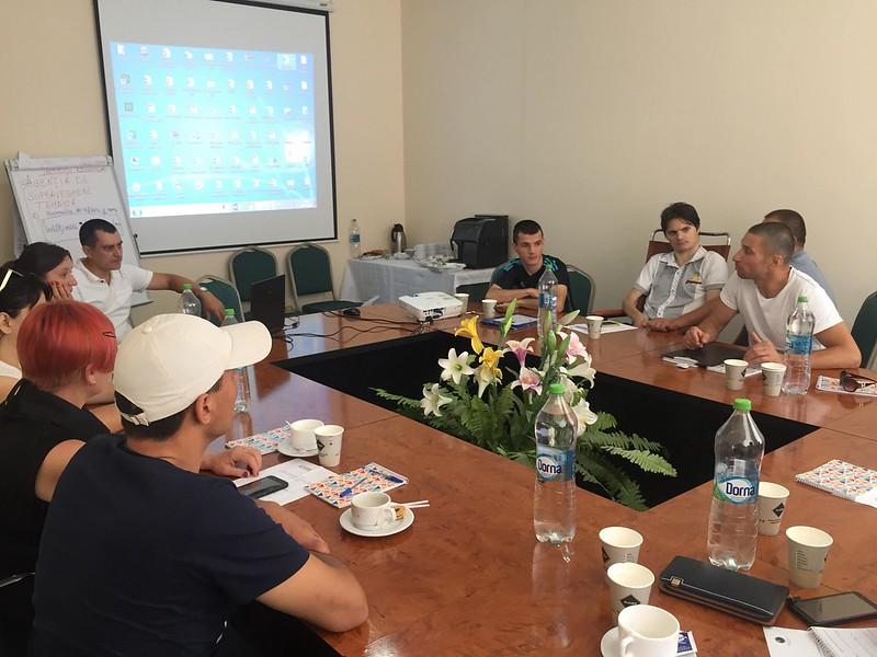 Persoanele cu dizabilități din 6 regiuni a Moldovei  și-au fortificat capacitățile sale pentru realizarea campaniilor de advocacy la nivel local