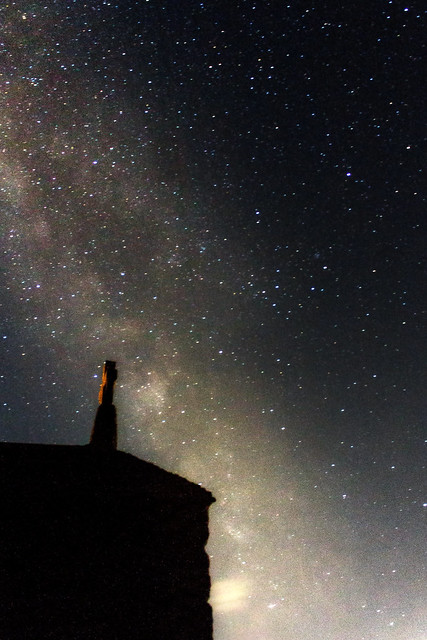 Milky Way over The Chapel, St. Ives 23:44 BST 27/07/19