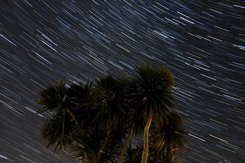20 Minute Star Trails from St. Ives, Cornwall 01/08/19