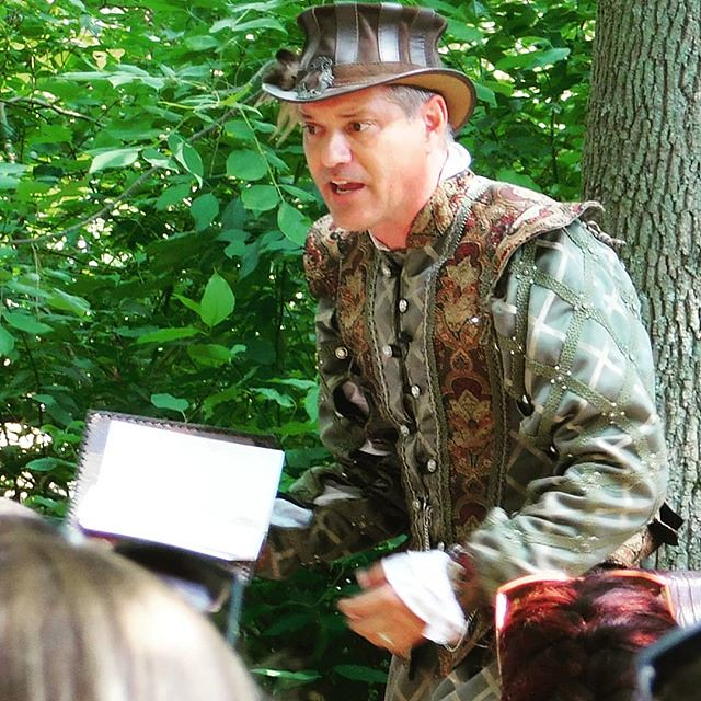 Reader of Ribald Poetry. #sterlingrenaissancefestival