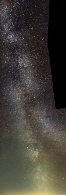 Milky Way Over St. Ives 01:10 BST 01/08/19