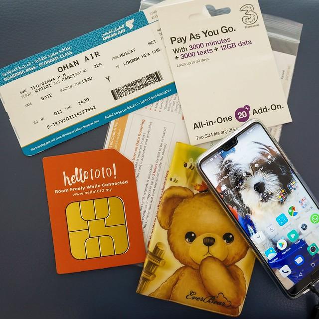 2018 UK & Europe Sim Card Hello1010-1