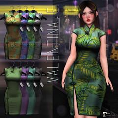 NEW! Valentina E. LiLi Dress @ FaMESHed!