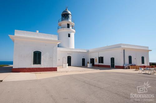 El Faro de Cavalleria al norte de Menorca