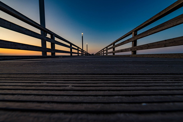 Seebrücke Heiligendamm - Ostsee - 3861