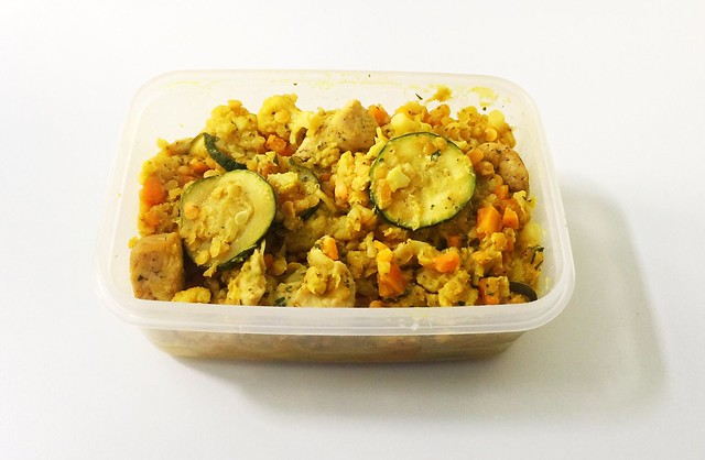 Cauliflower lentil fry - leftovers / Blumenkohl-Linsen-Pfanne - Reste