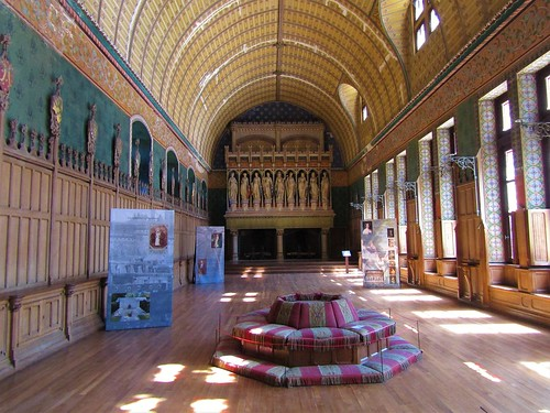 Room in Pierrefonds Castle