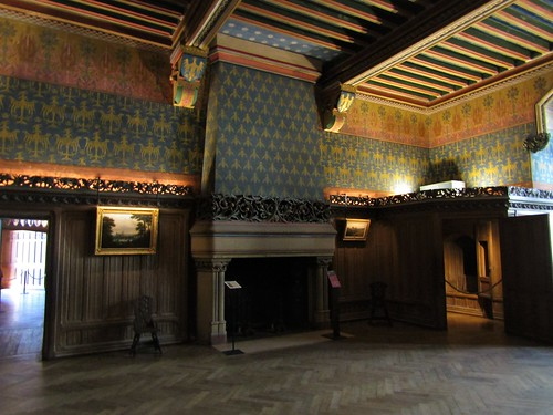 Room in Pierrefonds Castle