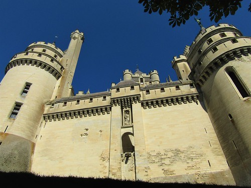 Château Pierrefonds in France