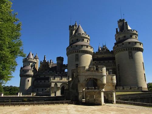 Pierrefonds Castle in France