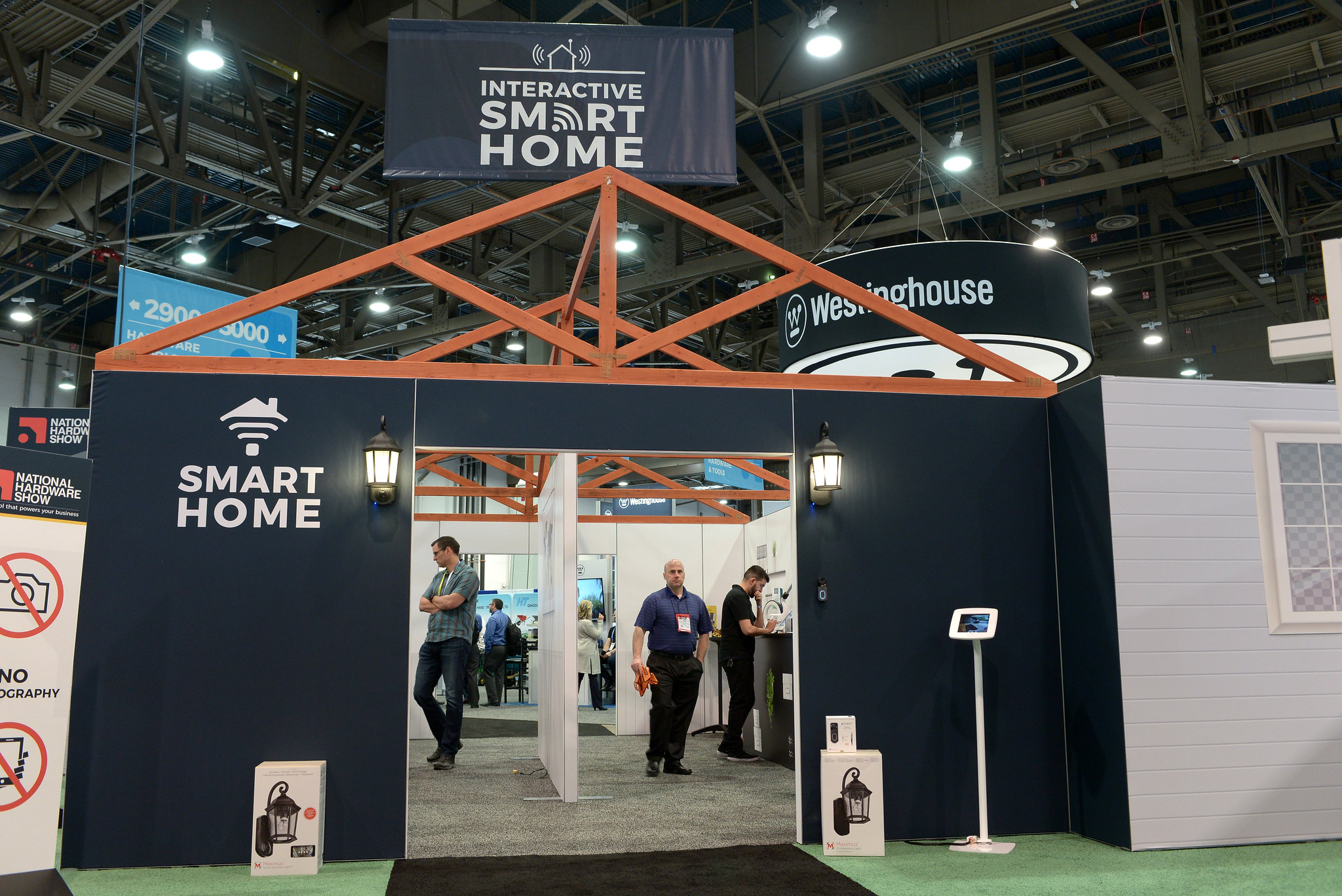 The interactivesmart home at last year's national hardware show   national hardware show 2020 (nhs)