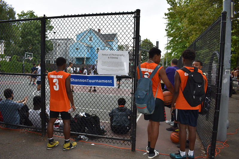 Activities and Crowd: 11th Annual Shannon Grant Basketbal Tournament