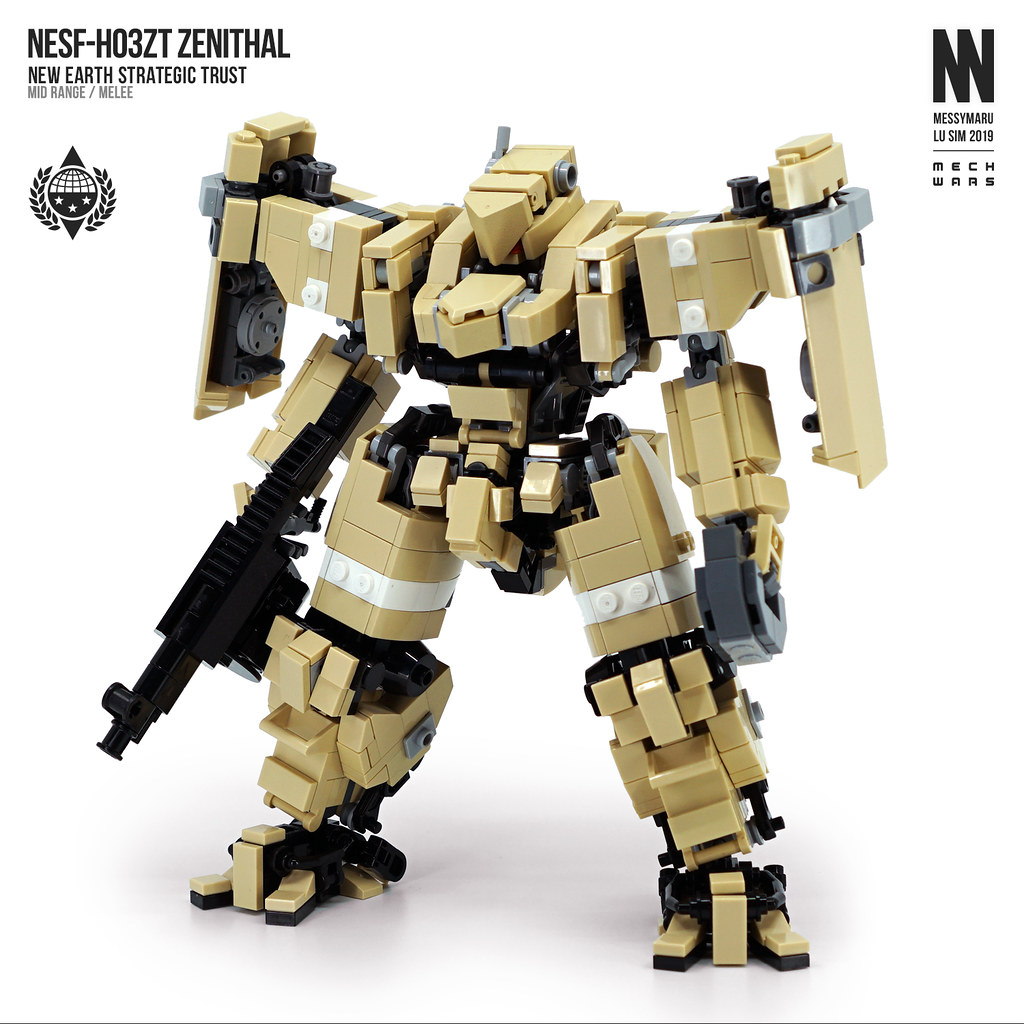 NESF-H03ZT Zenithal (custom built Lego model)