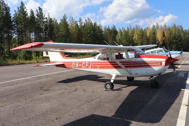 OH-CFJ  -  Reims-Cessna F172L  -  Private  -  EFLA 28-7-19