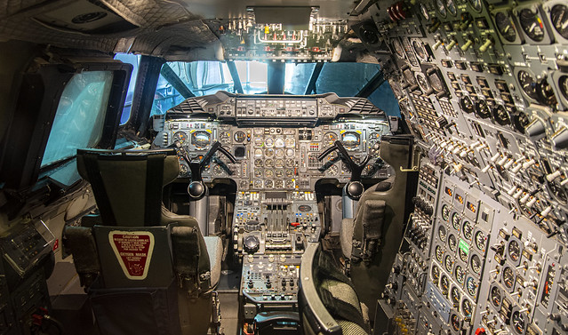 Cockpit of Concorde