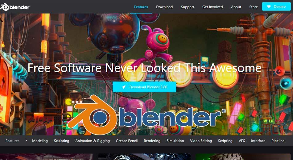 Este es Blender 2.80, su versión más ambiciosa y poderosa hasta la fecha