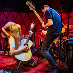 Wed, 31/07/2019 - 5:35pm - Jade Bird plays for an audience of WFUV Marquee Members at Rockwood Music Hall in New York City, 7/31/19. Photo by Gus Philippas/WFUV
