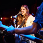 Wed, 31/07/2019 - 5:29pm - Jade Bird plays for an audience of WFUV Marquee Members at Rockwood Music Hall in New York City, 7/31/19. Photo by Gus Philippas/WFUV