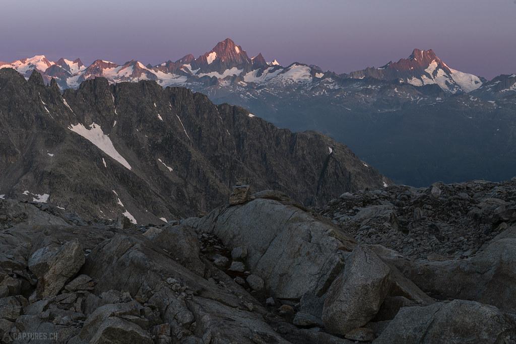 Glowing peaks - Gerenpass