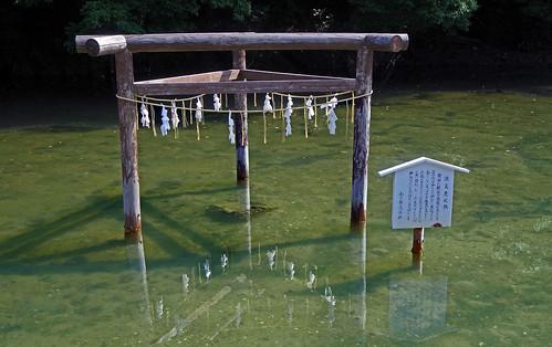 Mihashira Torii, Watatsumi Shrine, Tsushima, Nagasaki 三柱鳥居 和多都美神社 対馬