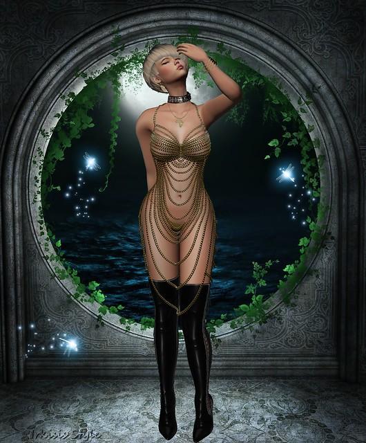 Addams - Queen Metal dress nº 6