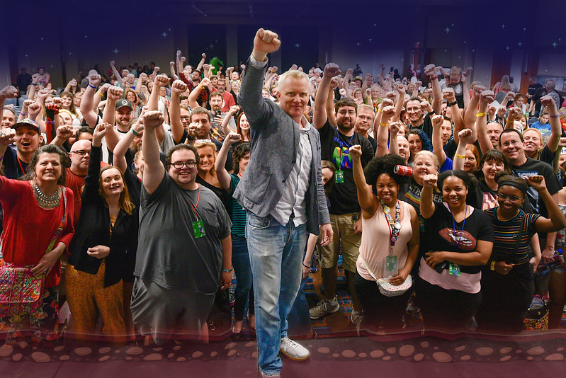 Celebrity Stage Selfies: GalaxyCon Raleigh 2019
