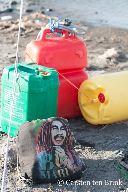Lake Turkana still life with Bob Marley