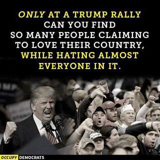 tRump hates Americans