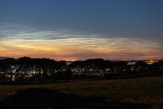 Noctilucent Clouds over Carrickhugh