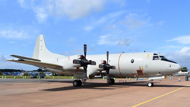 Lockheed P-3C Orion c/n 5737 Germany Navy serial 60+01