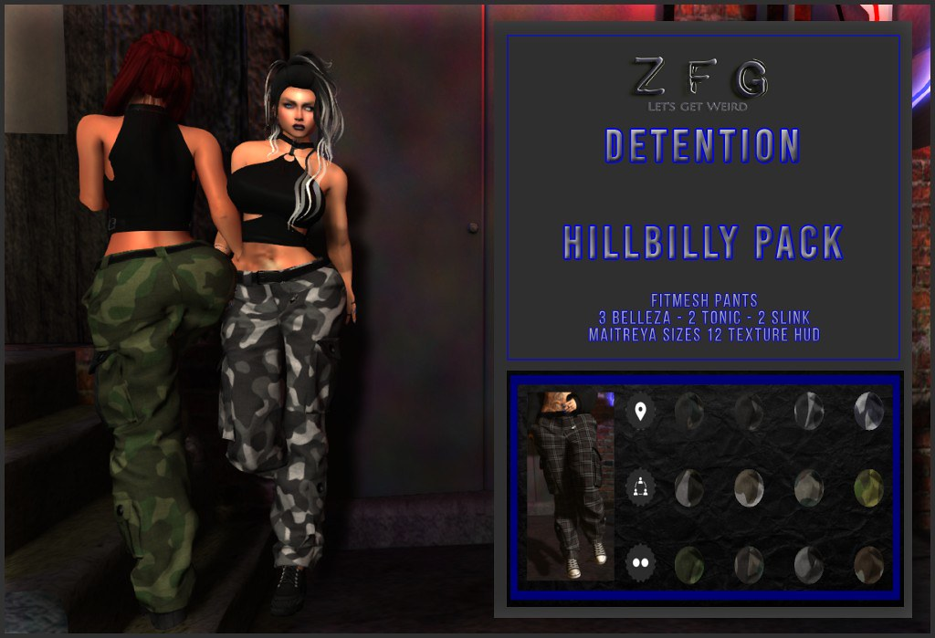 {zfg} detention hillbilly pack - TeleportHub.com Live!