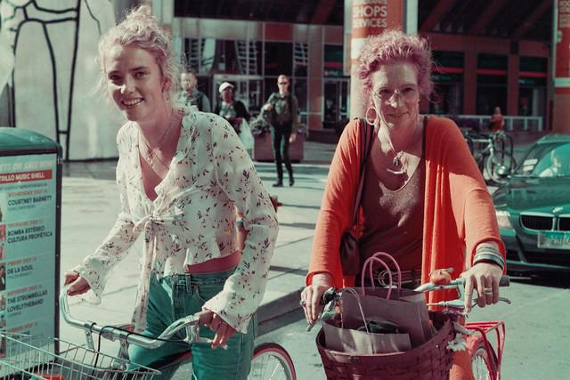 Mother & Daughter Bike Ride
