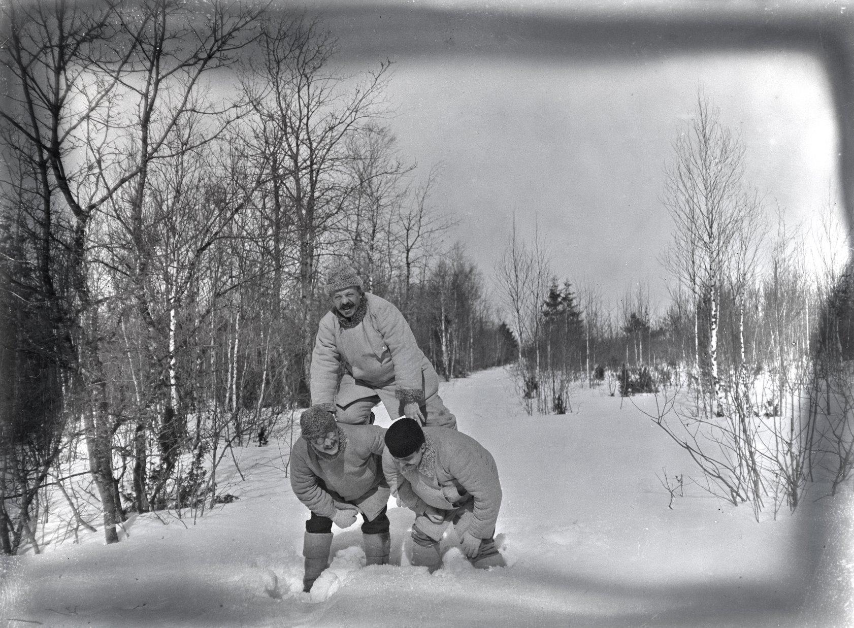 07. 1897. Зимние забавы