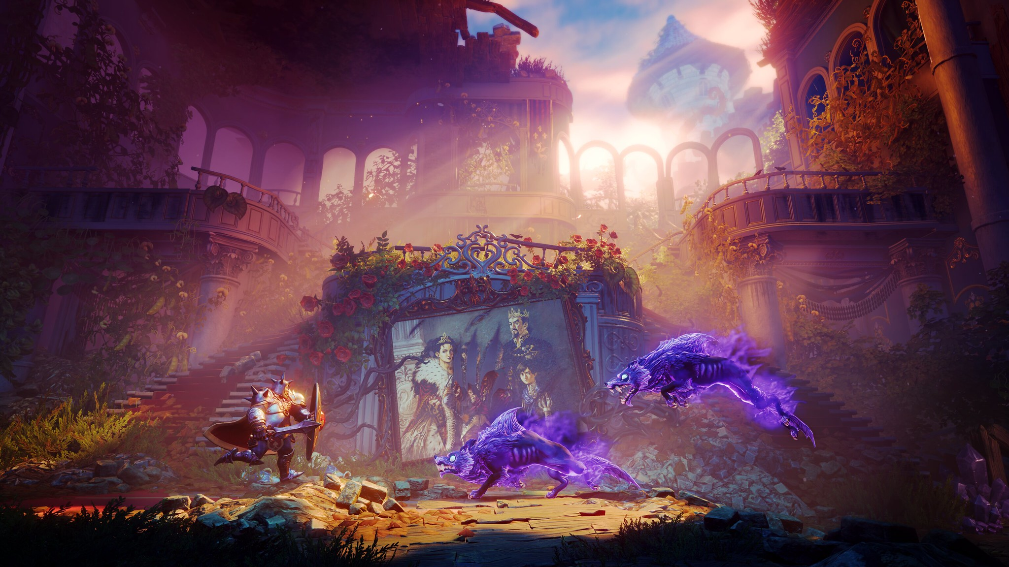Trine 4: The Nightmare Prince is coming October 8th