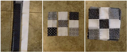 Irish Chain Quilt Collage