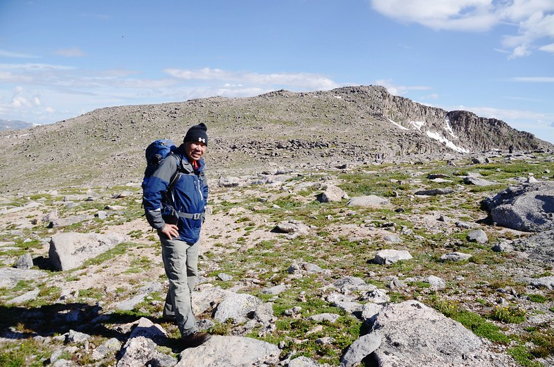 Taken from the west slope of Mount Evans after climbing the gully (5)