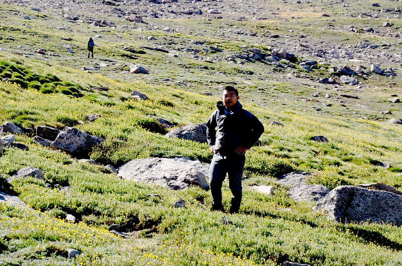 Taken from the west slope of Mount Evans after climbing the gully (1)