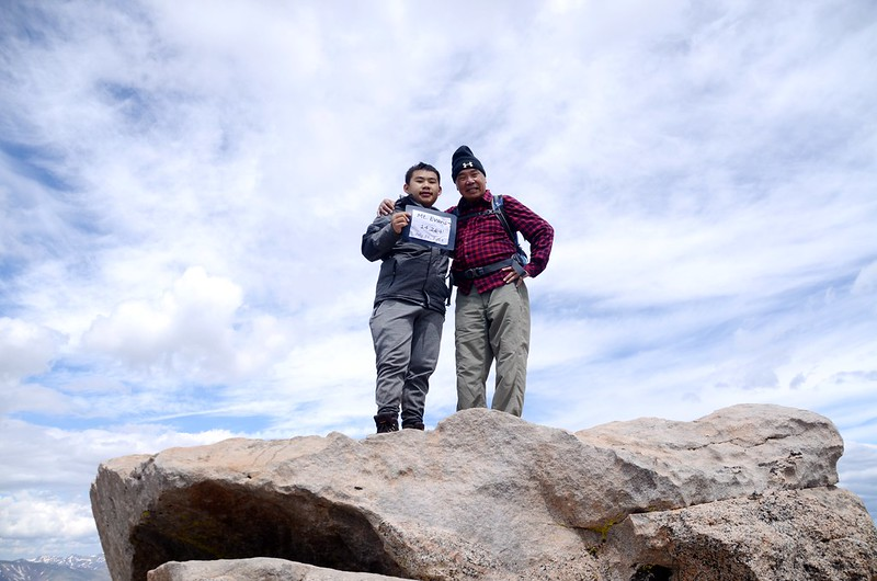 On the summit of Mount Evans (15)