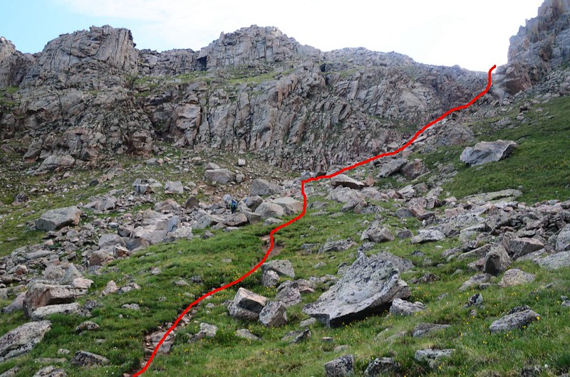 A closer look at the gully (2)