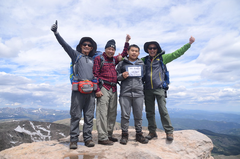 On the summit of Mount Evans (13)