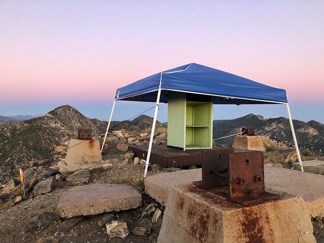 Josephine Peak summit