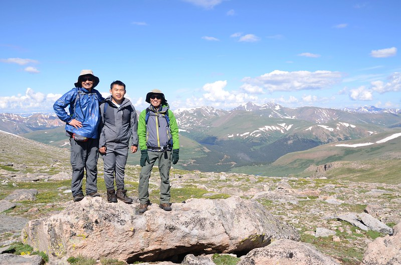 Taken from the west slope of Mount Evans after climbing the gully (13)